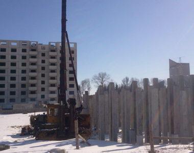 Строительство жилого дома в г. Дзержинске, 2012 г.