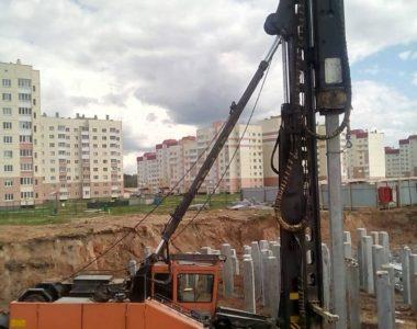 Многоквартирный жилой дом (поз. 16 по генплану) в микрорайоне №7 в г. Бобруйске, 2018 г.