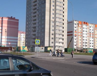 Многоэтажный жилой дом (позиция №1 по генплану) в микрорайоне №104 в г. Гомеле