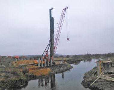 Мост через канал на 164,94 км а.д М-6, 2017 г.
