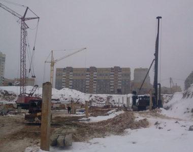 Строительство ТЦ Green в г. Витебске, 2013 г.