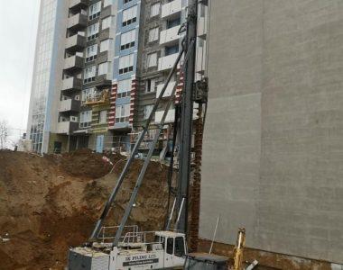Строительство жилого комплекса Карамель в г. Минск , 2020 г.