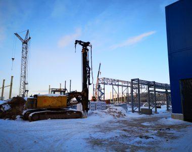 Строительство завода по производству металлического листа и белой жести в г. Миоры Витебской области