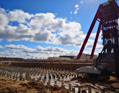 Строительство в Минской области и ввода в эксплуатацию Горно-обогатительного комплекса проектной мощностью не менее 1.1 млн. тонн хлорида калия в год